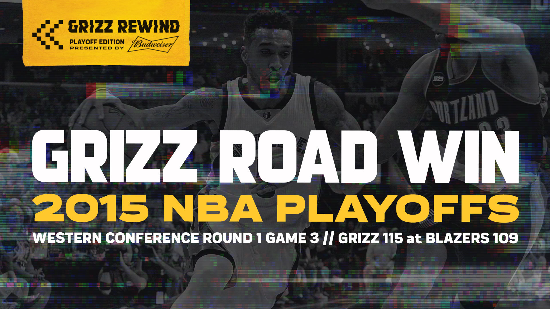 Grizz Road Win | Grizz Rewind: Playoff Edition 4.25.15