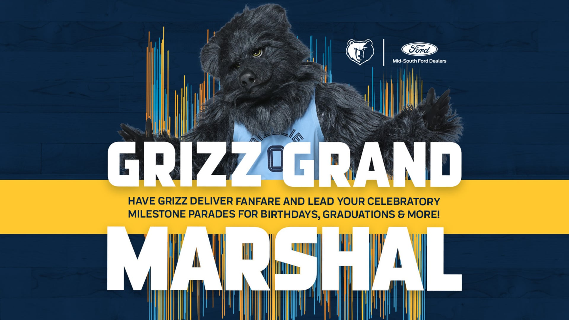 Sign up for Grizz to Grand Marshall your Parade