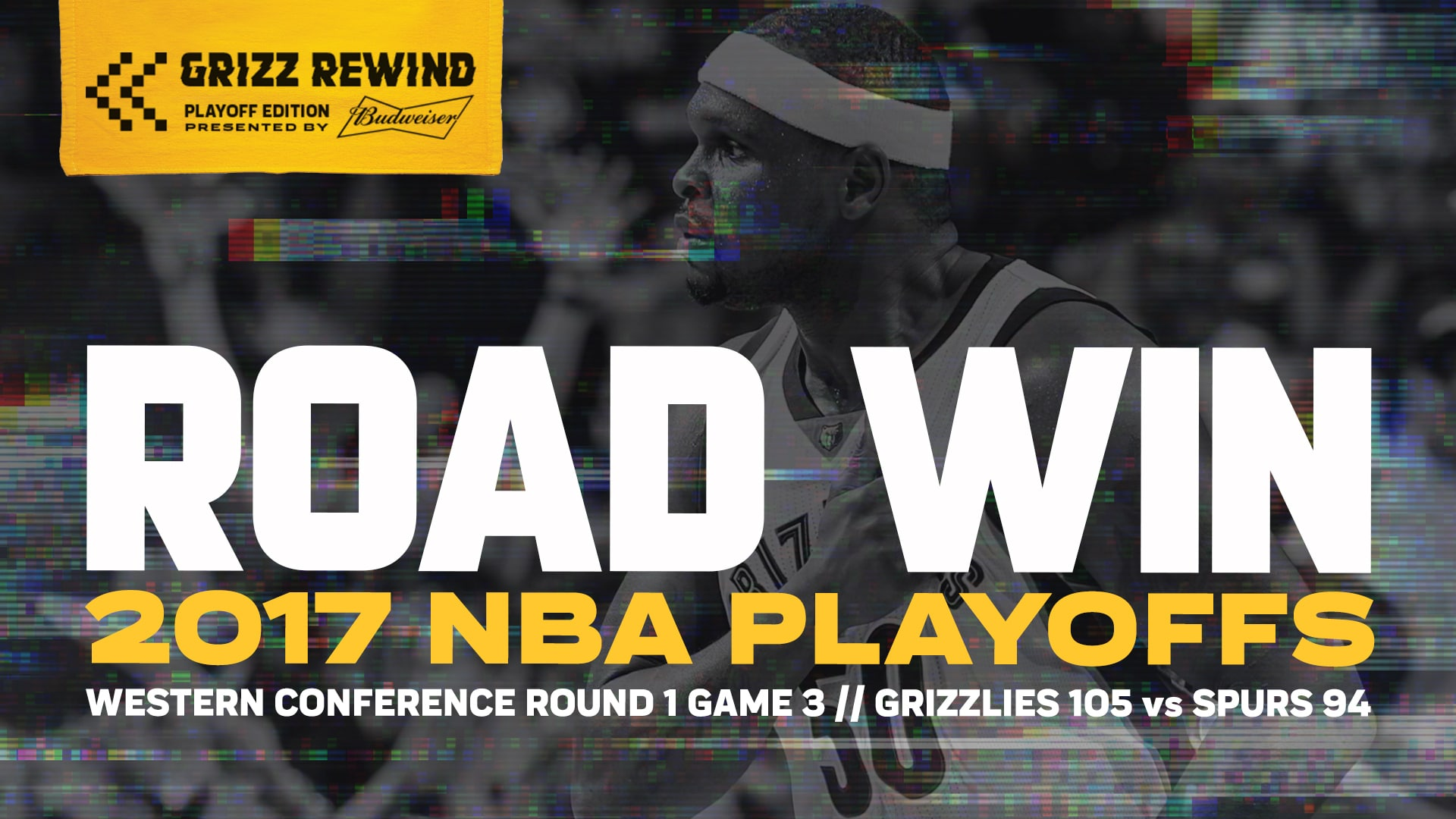 Road Win | Grizz Rewind: Playoff Edition 4.20.17