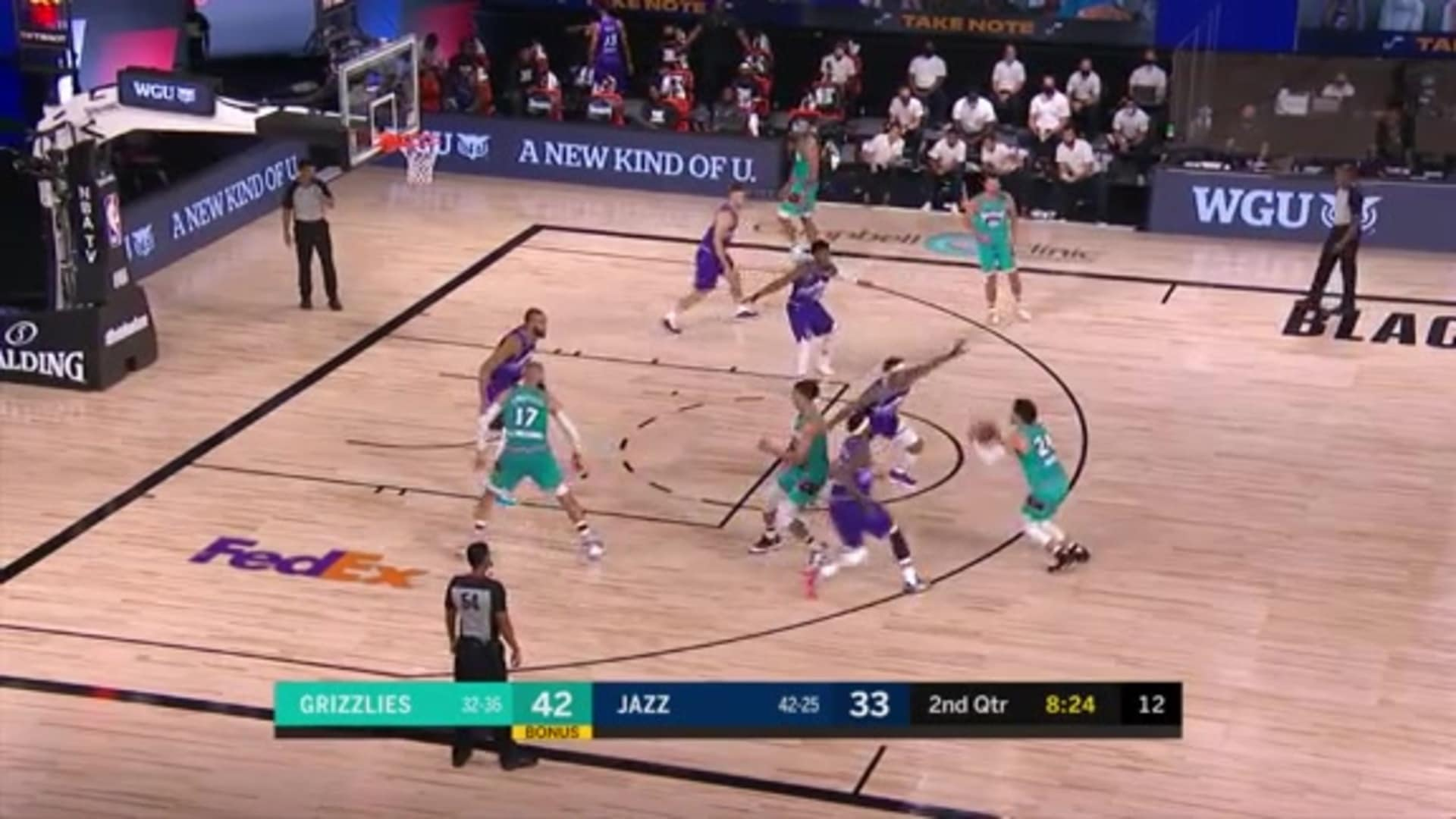 Dillon Brooks fires away from way downtown