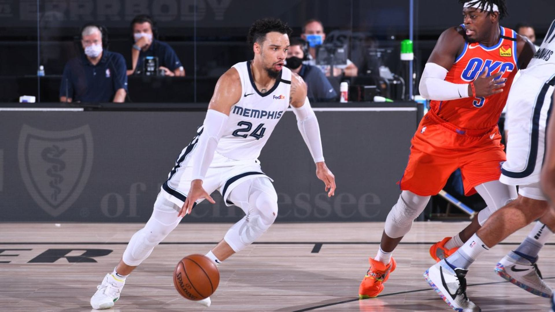 Dillon Brooks 22 points @ Thunder 8.7.20