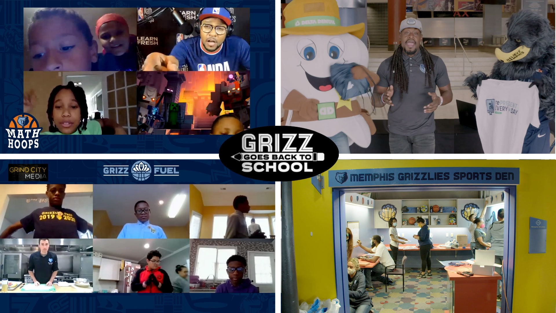 Grizz Goes Back to School Campaign Recap