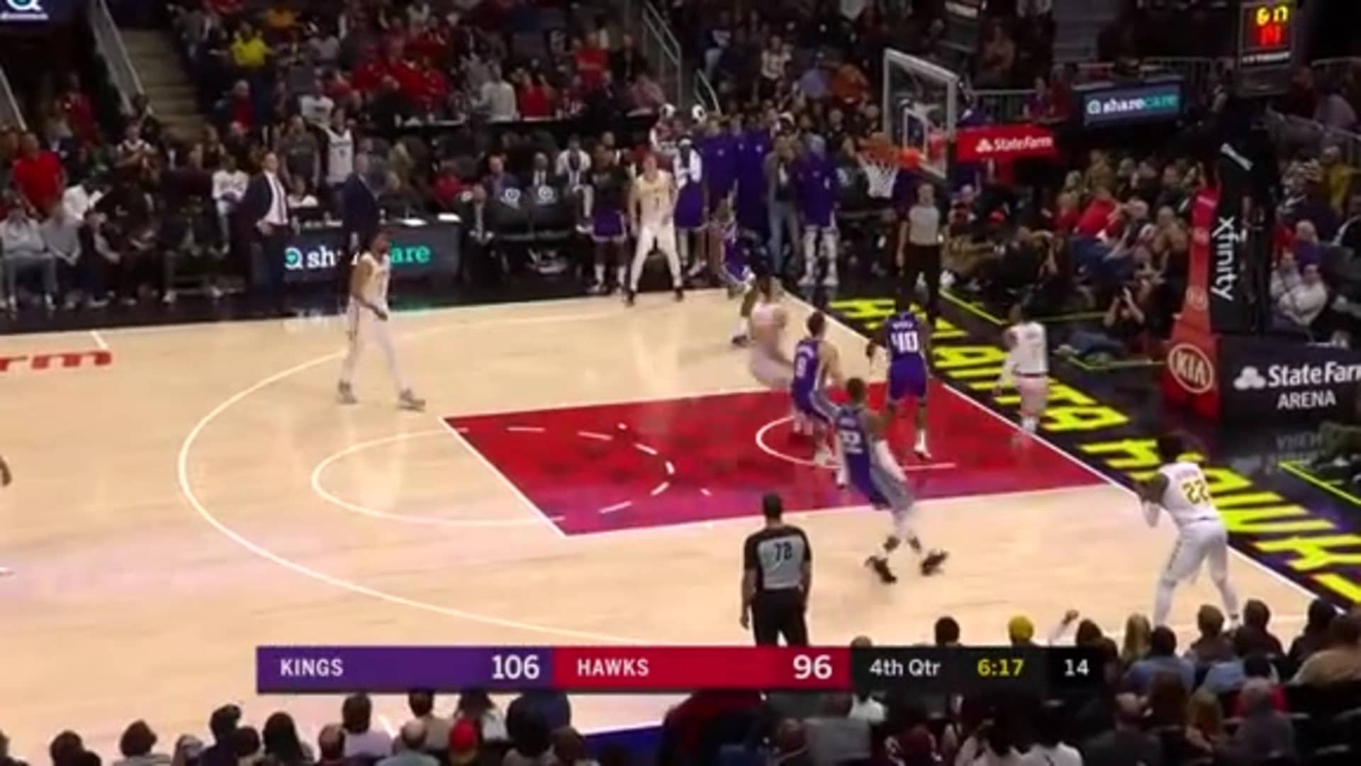 Young Tallies Game-High 30 Points vs. Kings
