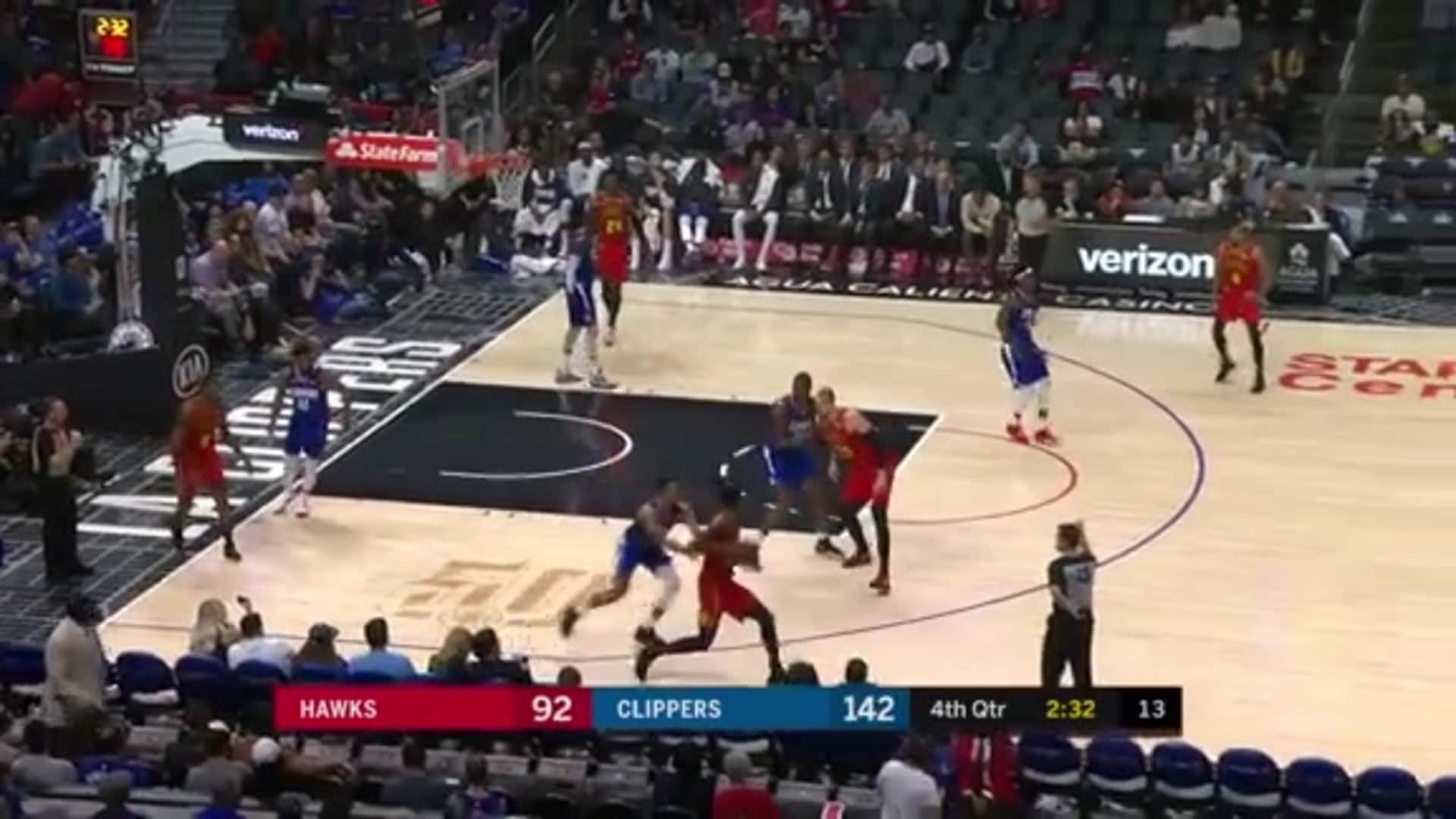 Reddish, Hunter Notch Double-Figures vs. Clippers