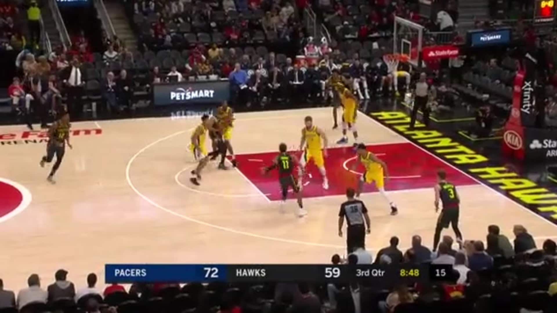 Young Drops 23 Points vs. Pacers