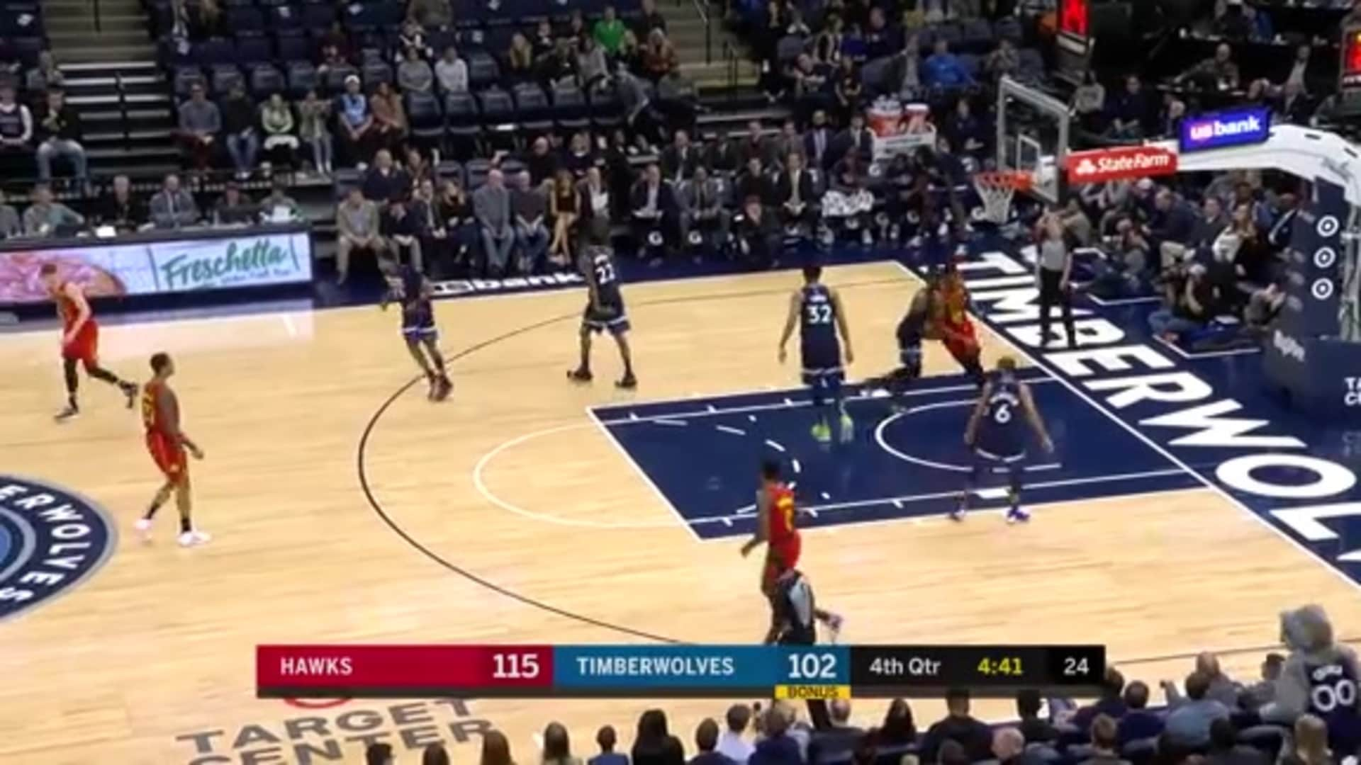 Young Puts Up 38 Points, 11 Assists In Win Over Minnesota