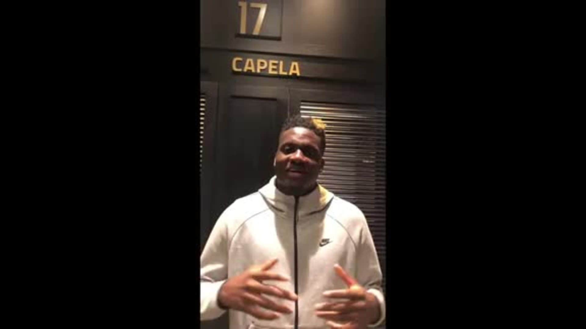 Clint Capela Speaks To Hawks Fans For The First Time