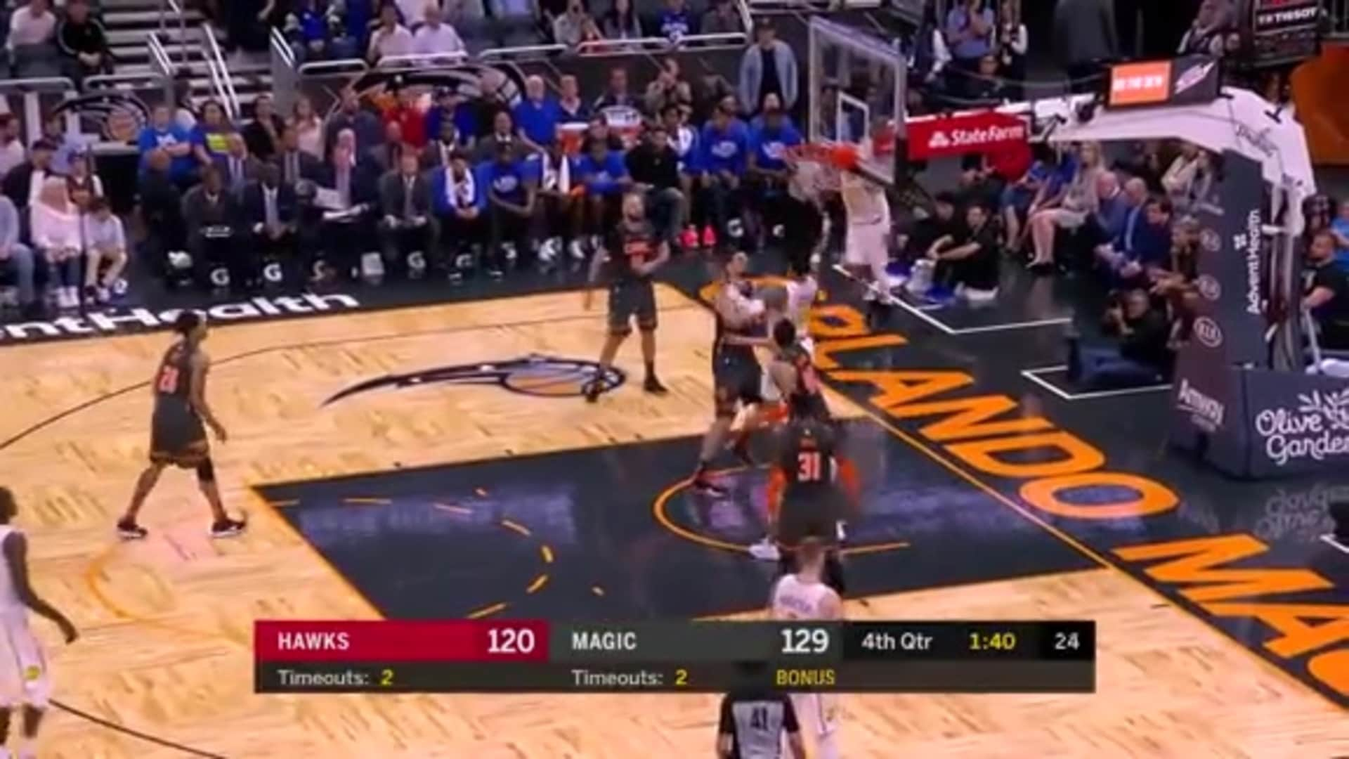 Young Scores 29 Points Against Magic