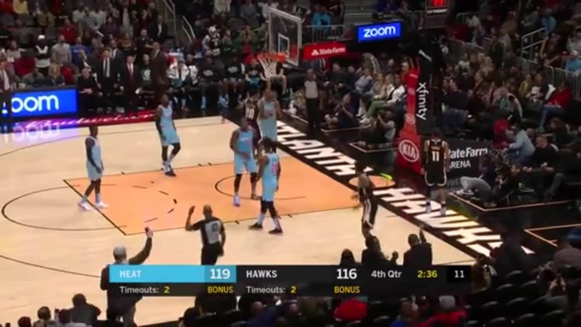 Young Drops Career-High 50 Points vs. Heat