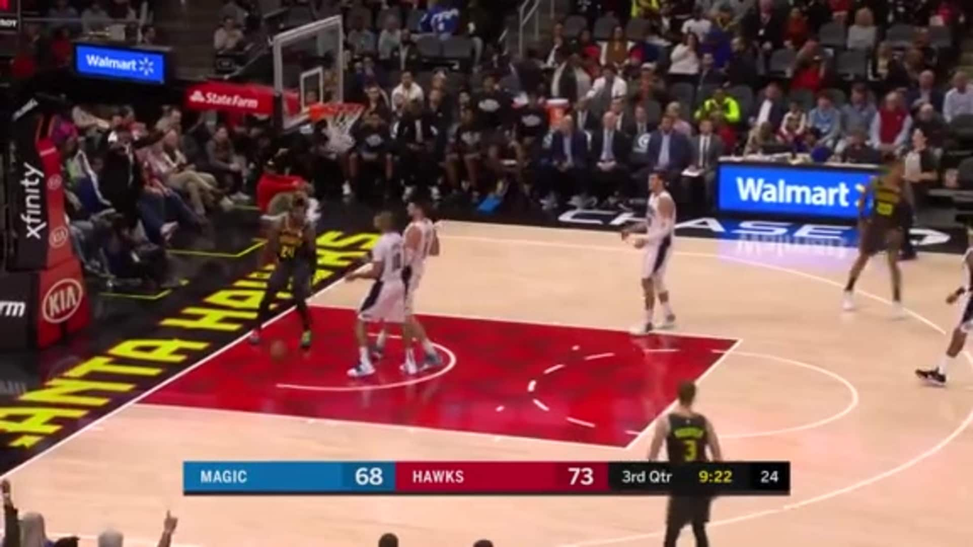 Young Secures 29th 30+ Point Game of The Season