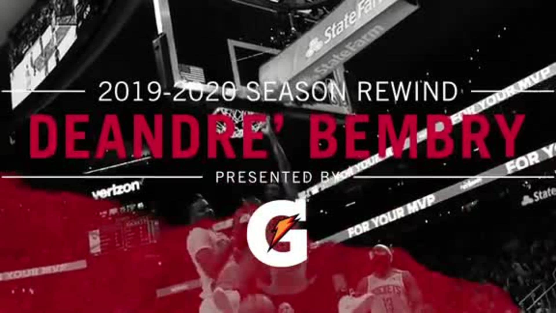 2019-2020 Season Rewind Presented by Gatorade: DeAndre' Bembry's Top Plays