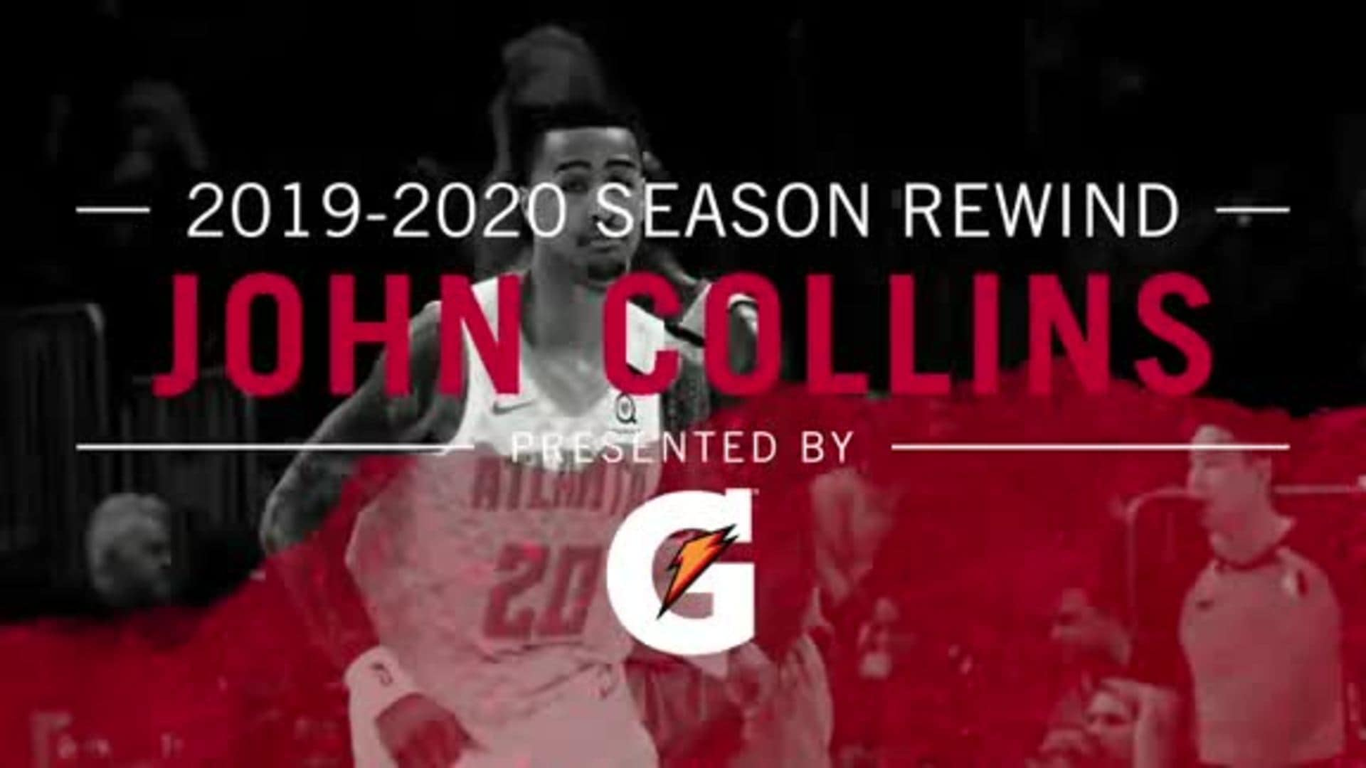 19-20 Season Rewind Presented by Gatorade: John Collins Top Plays