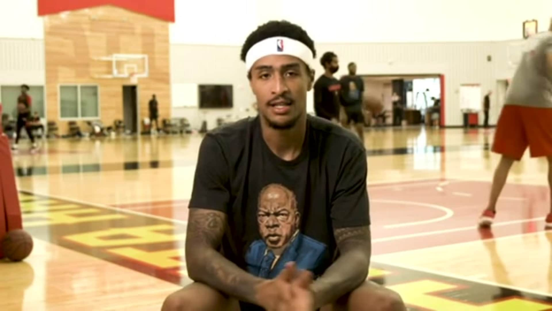 2020 Mini-Camp Interviews presented by Michelob ULTRA: John Collins Feels Refreshed