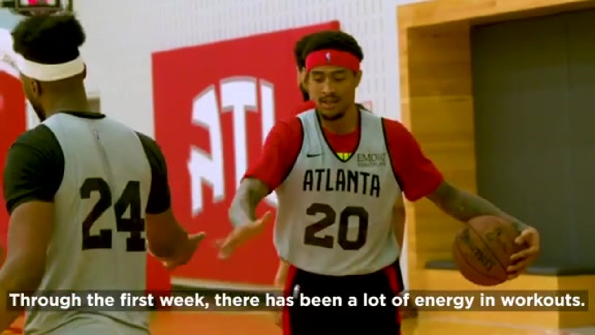 Hawks Practice Report Week 1: Presented by Michelob ULTRA