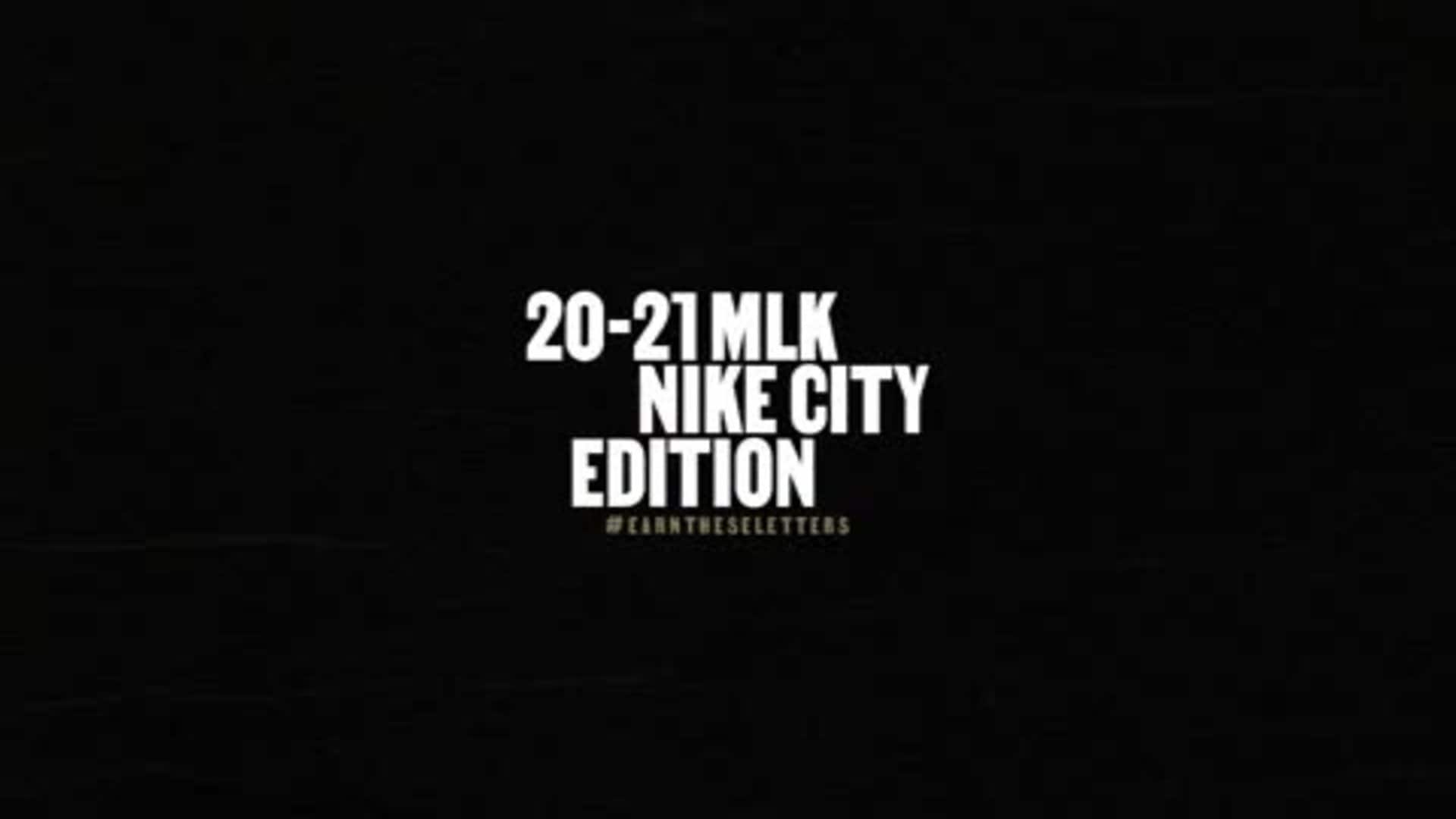 2020-21 MLK Nike City Edition Details