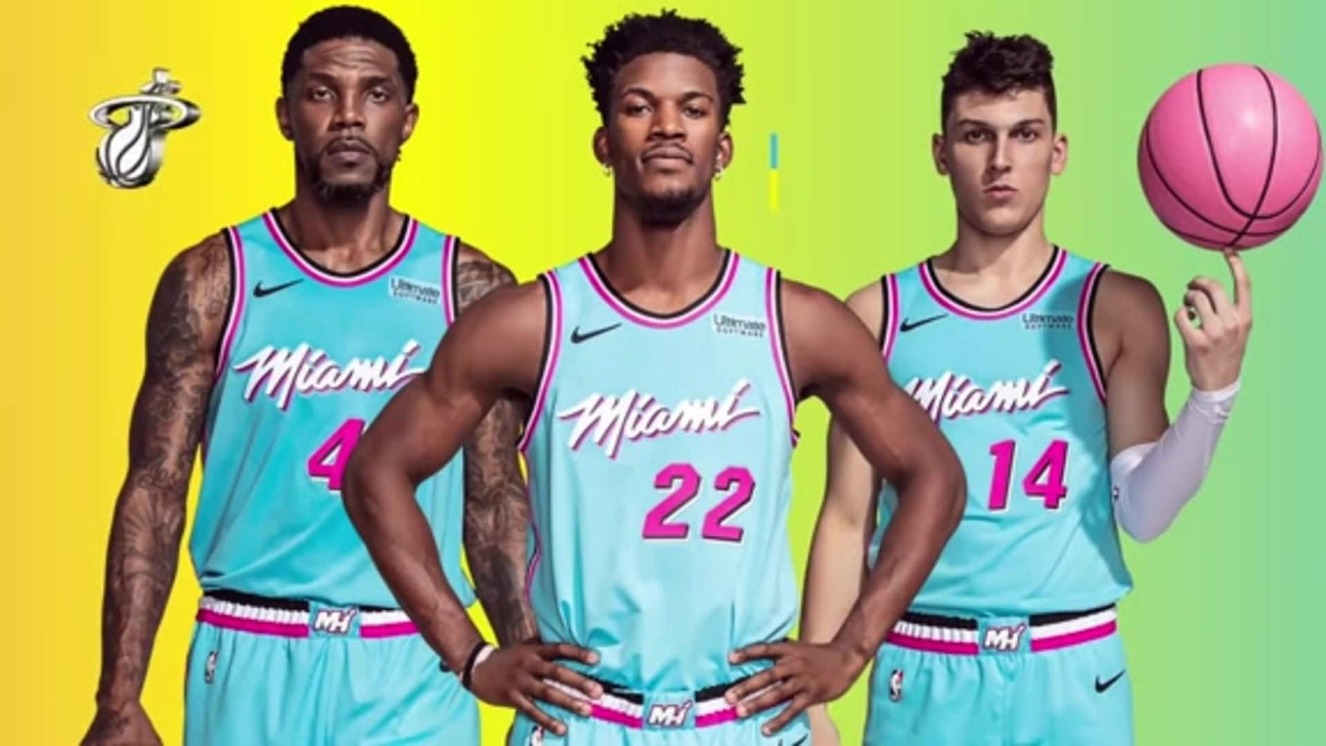 First Look At The Vicewave Collection Miami Heat