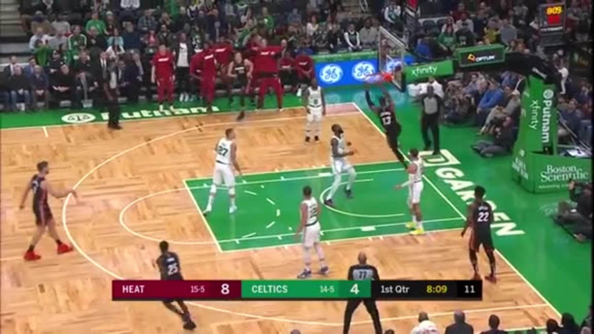 Bam With the Step and Slam