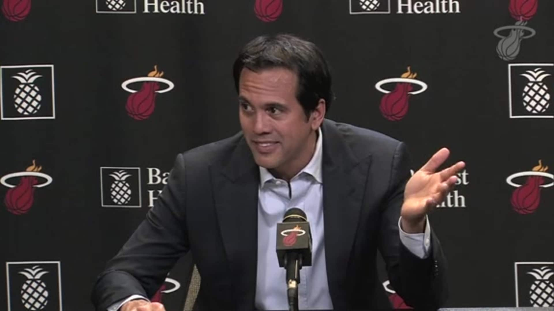 Coach Spo After The OT Win