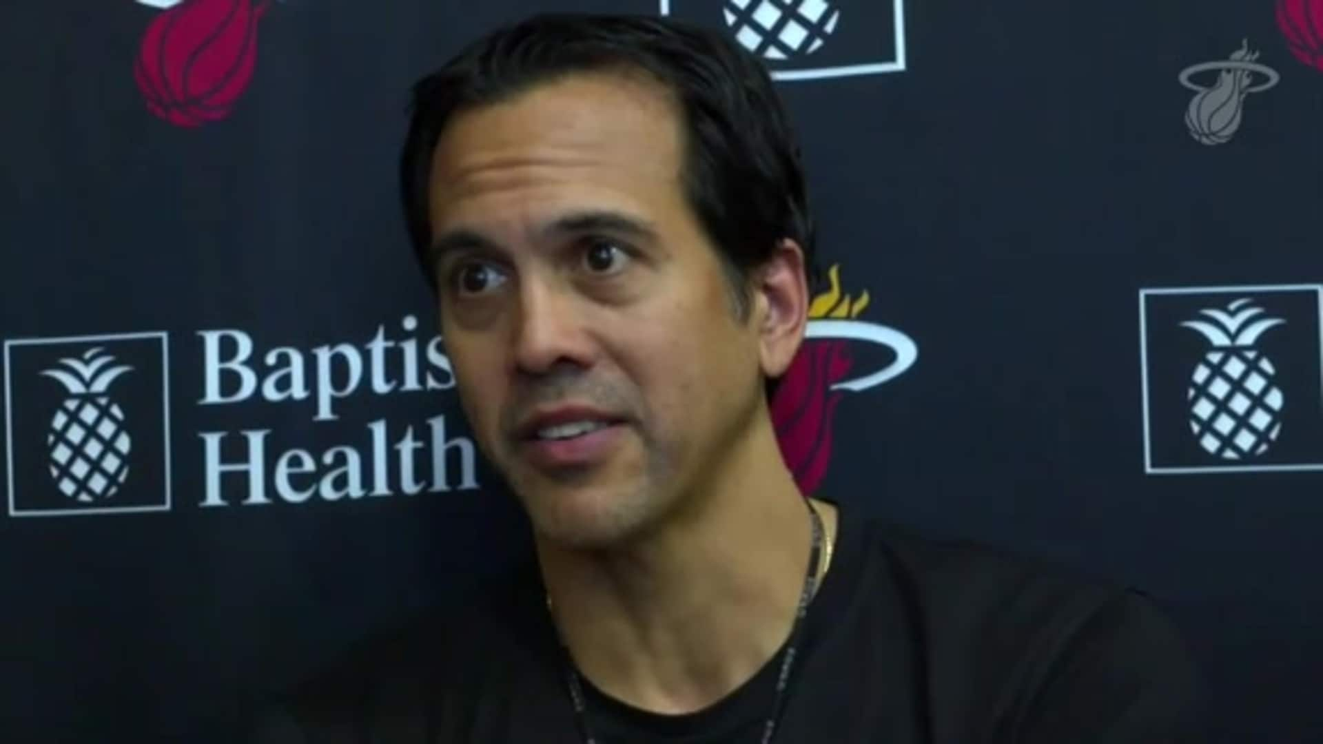 Coach Spo Provides Status Update After Sunday's Practice