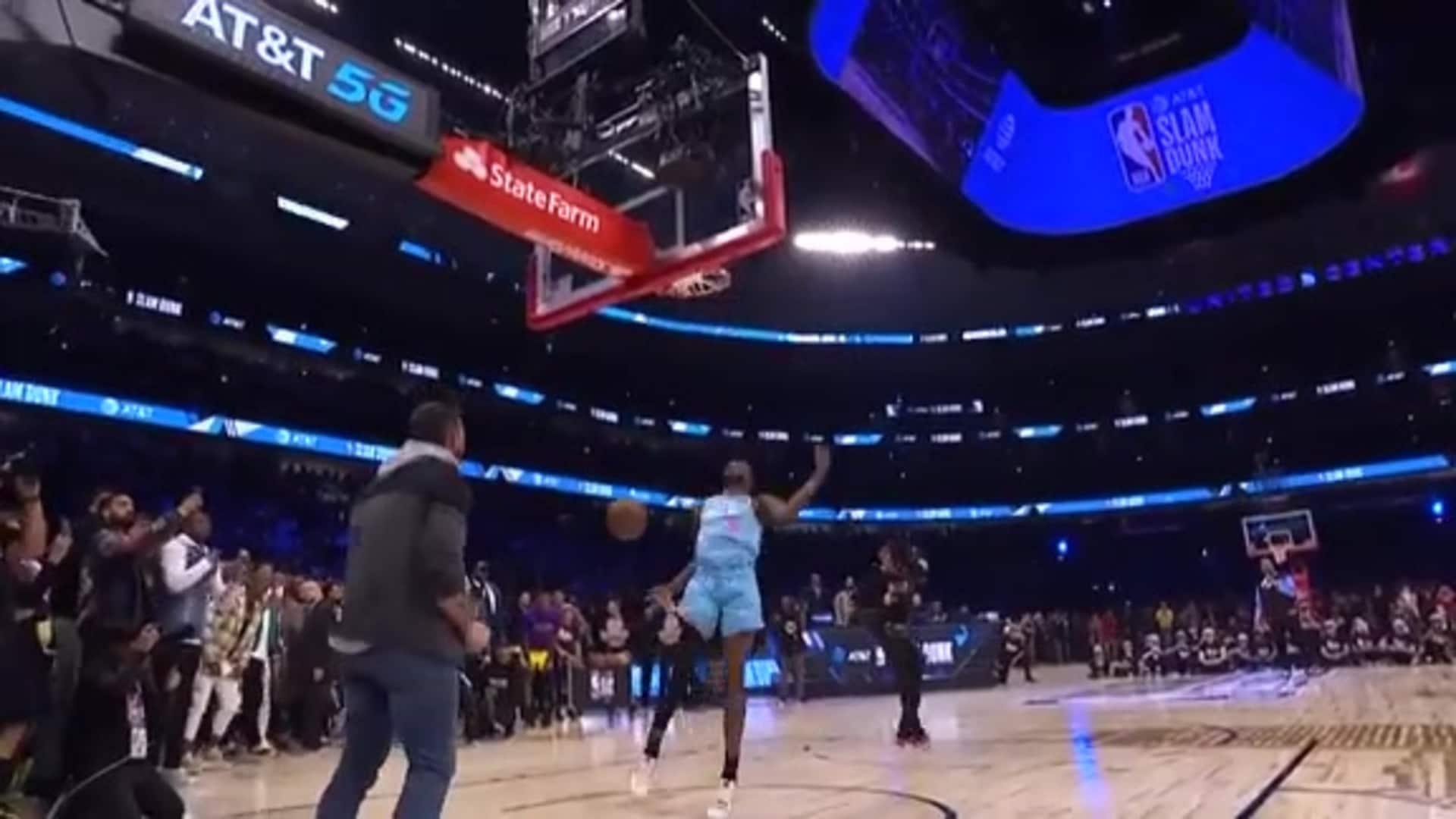 DJ Puts On Historic Dunk Contest