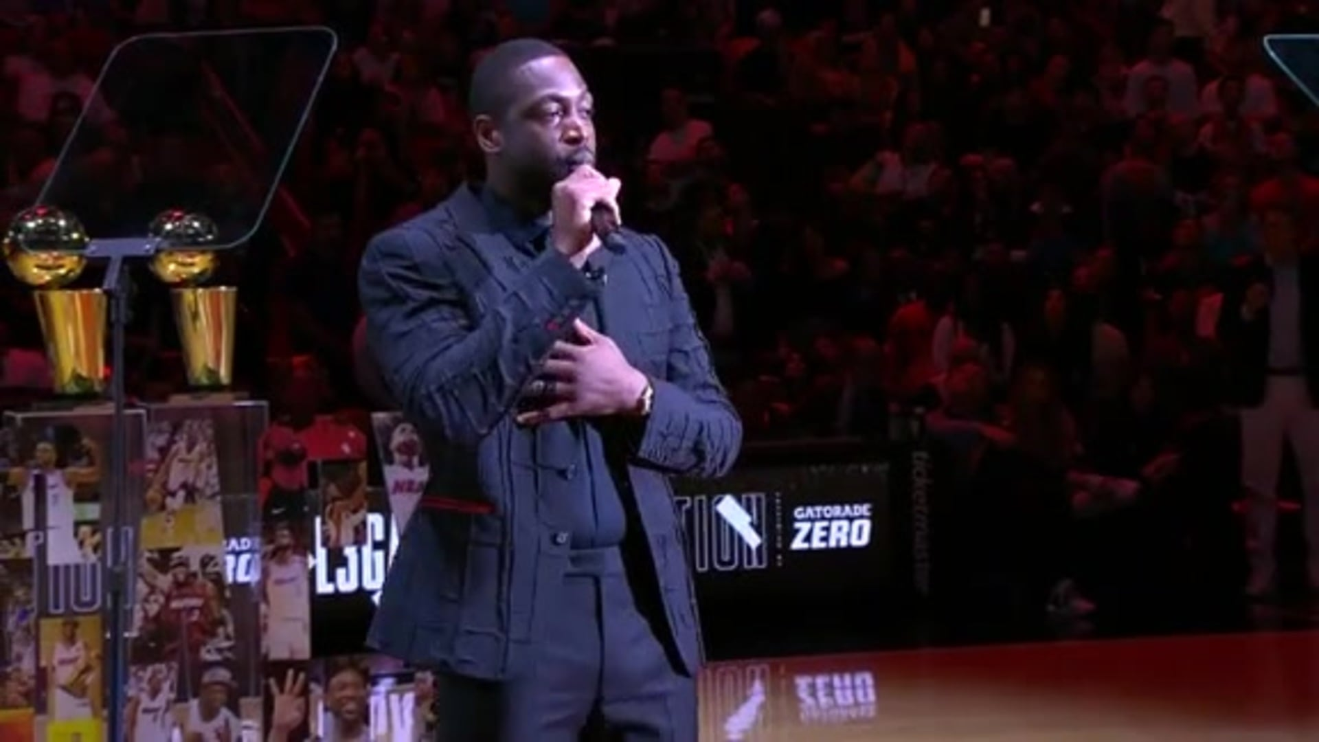 Wade's Jersey Retirement Speech