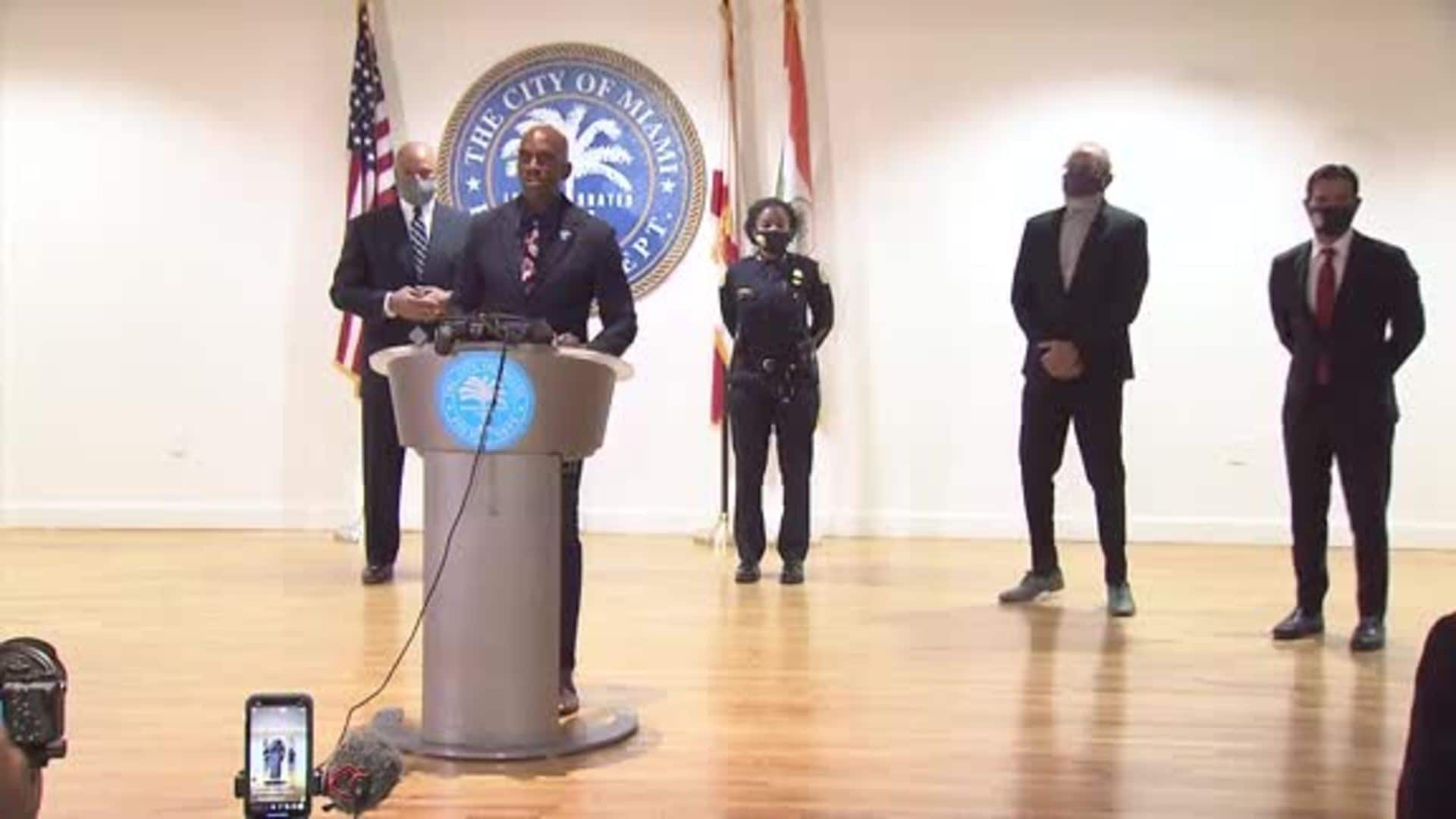 Full Press Conference: HEAT, Miami PD and D2C Announce Partnership