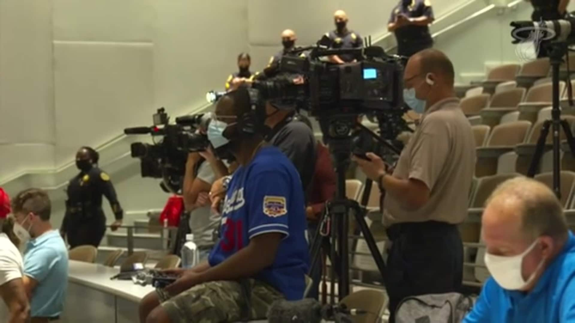 WATCH: HEAT, Miami PD and D2C Announce Partnership
