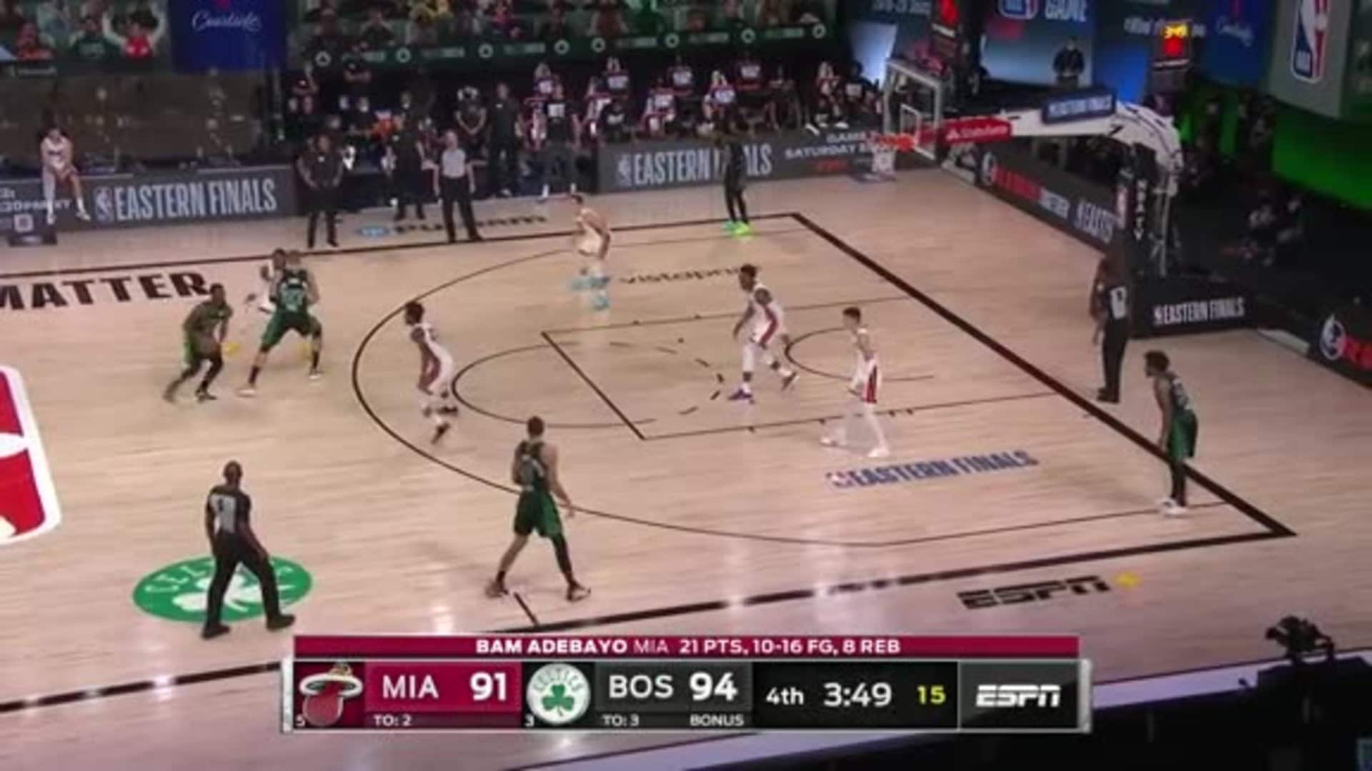Celtics Game 2: Zone Defense 3