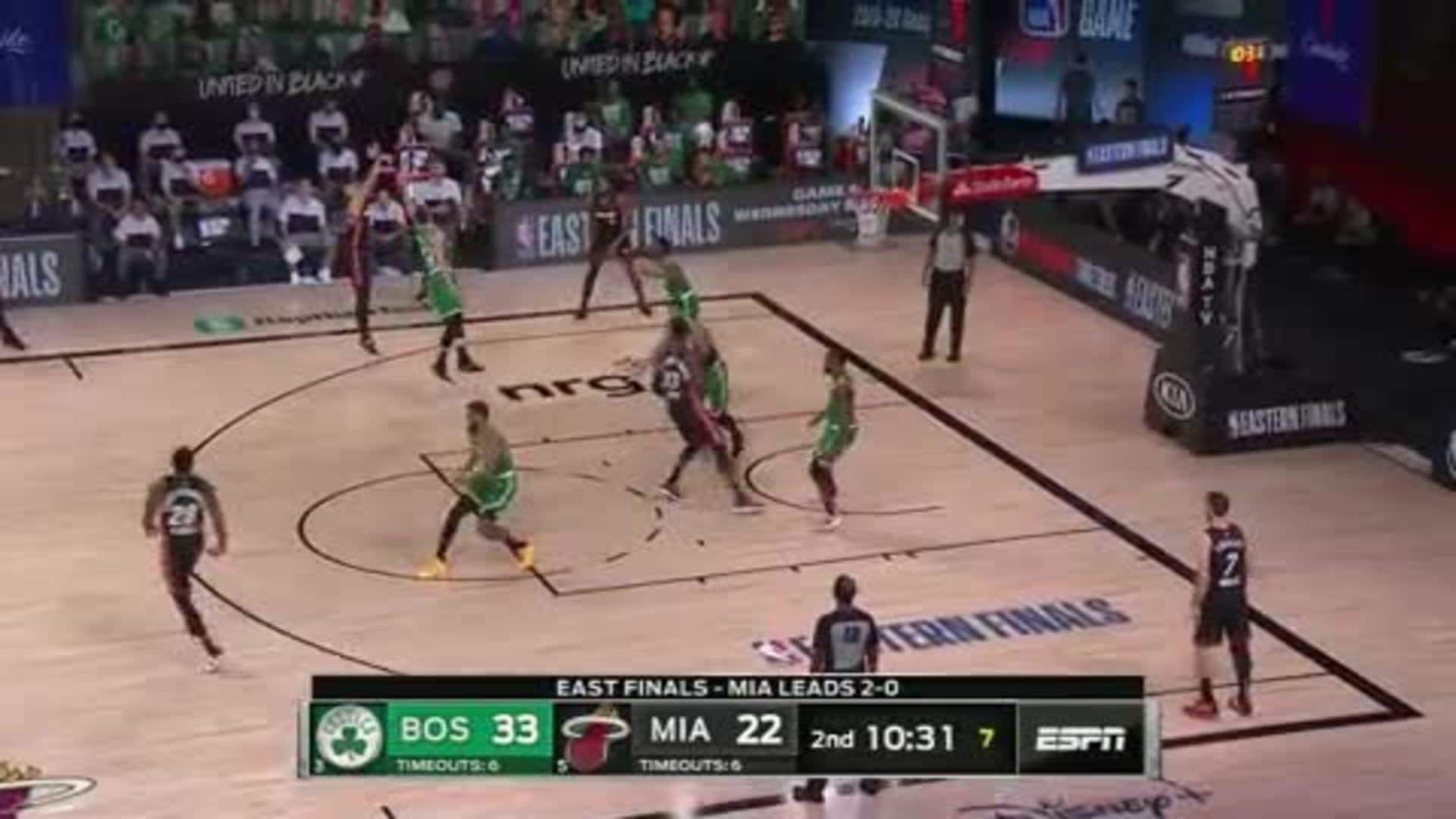 Herro Gets Hot in the 2nd Quarter