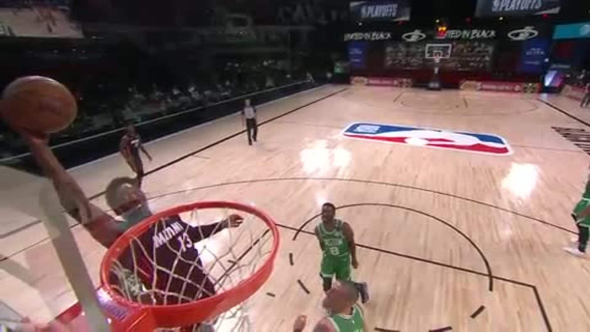 Bam Gets Eye Level With the Rim
