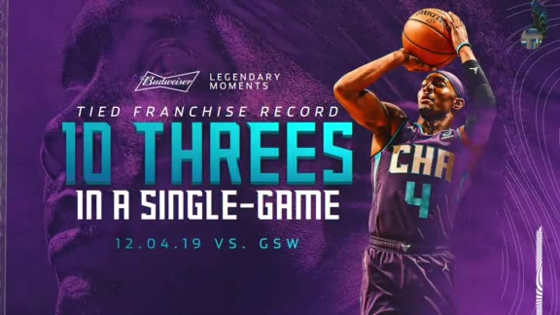 Hornets Highlights | Devonte' Graham Ties Franchise Record - 12/5/19