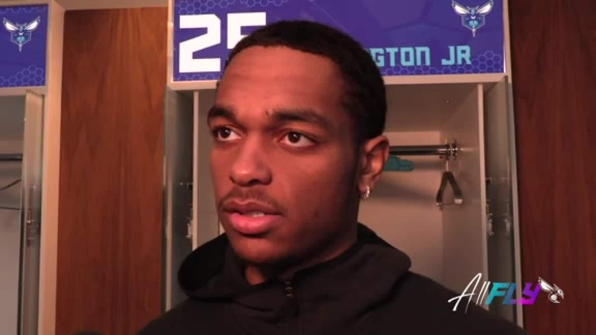 Hornets Postgame | PJ Washington - 12/6/19