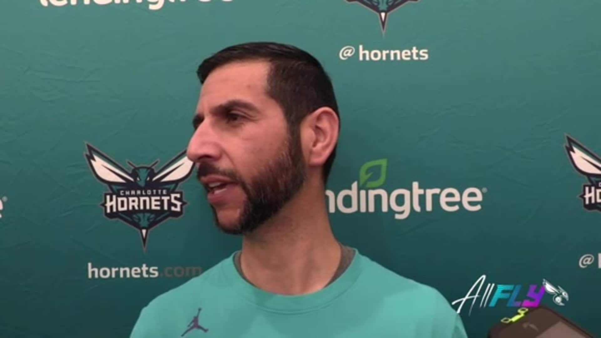 Hornets Practice | James Borrego - 12/9/19