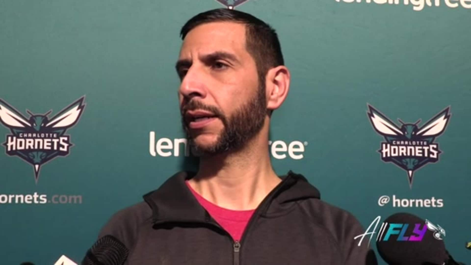 Hornets Pregame | James Borrego - 12/10/19
