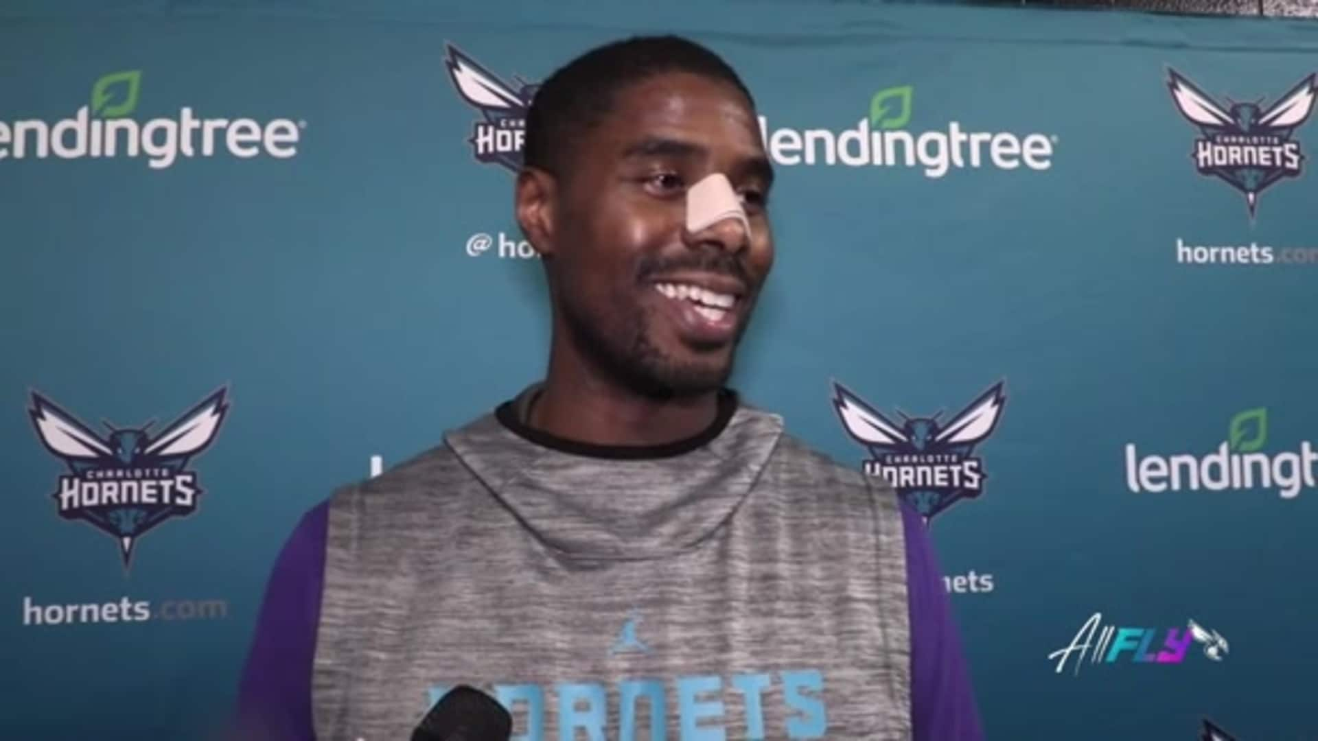 Hornets Shootaround | Marvin Williams - 1/8/20