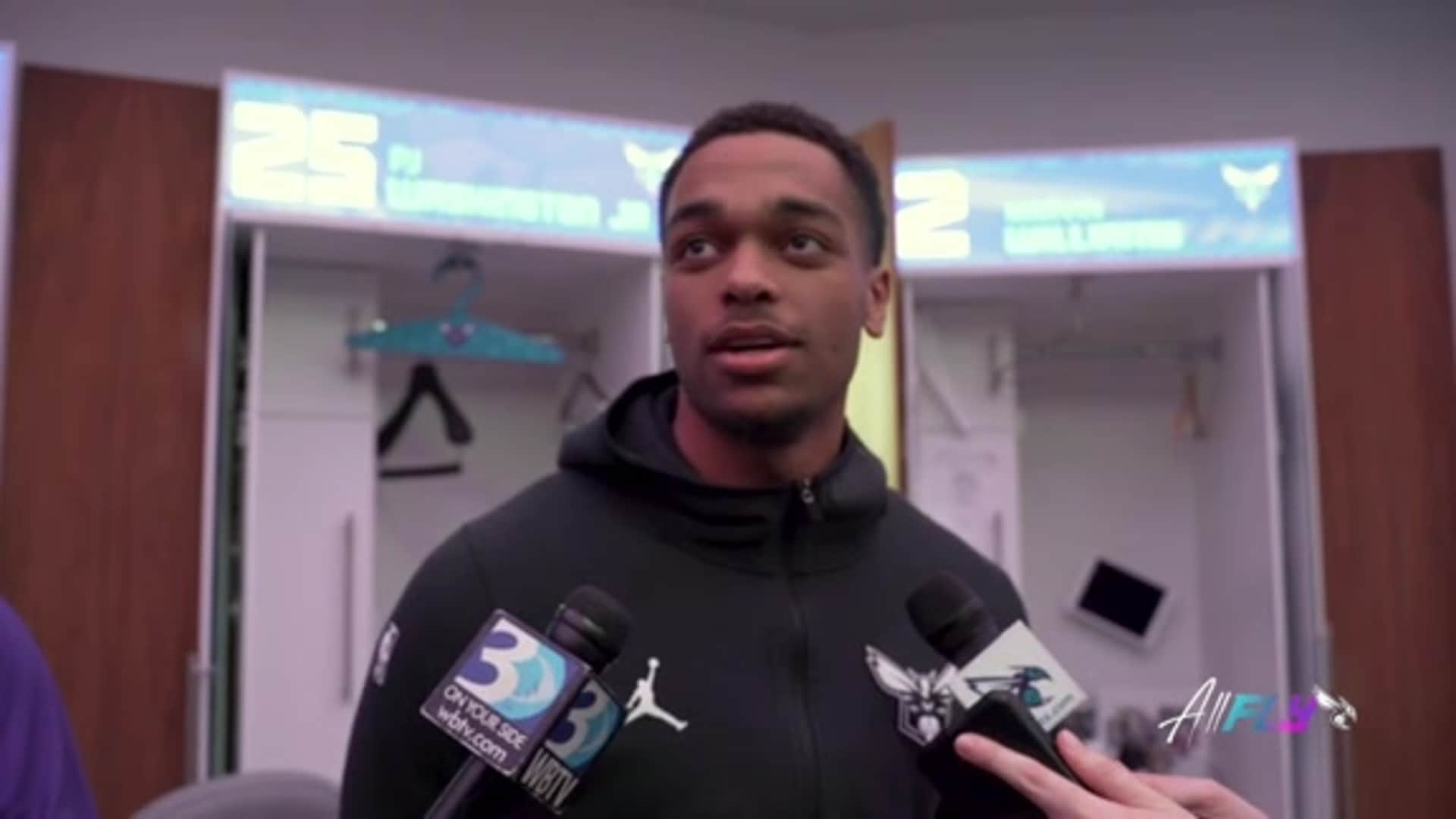 Hornets Postgame | PJ Washington - 1/20/20