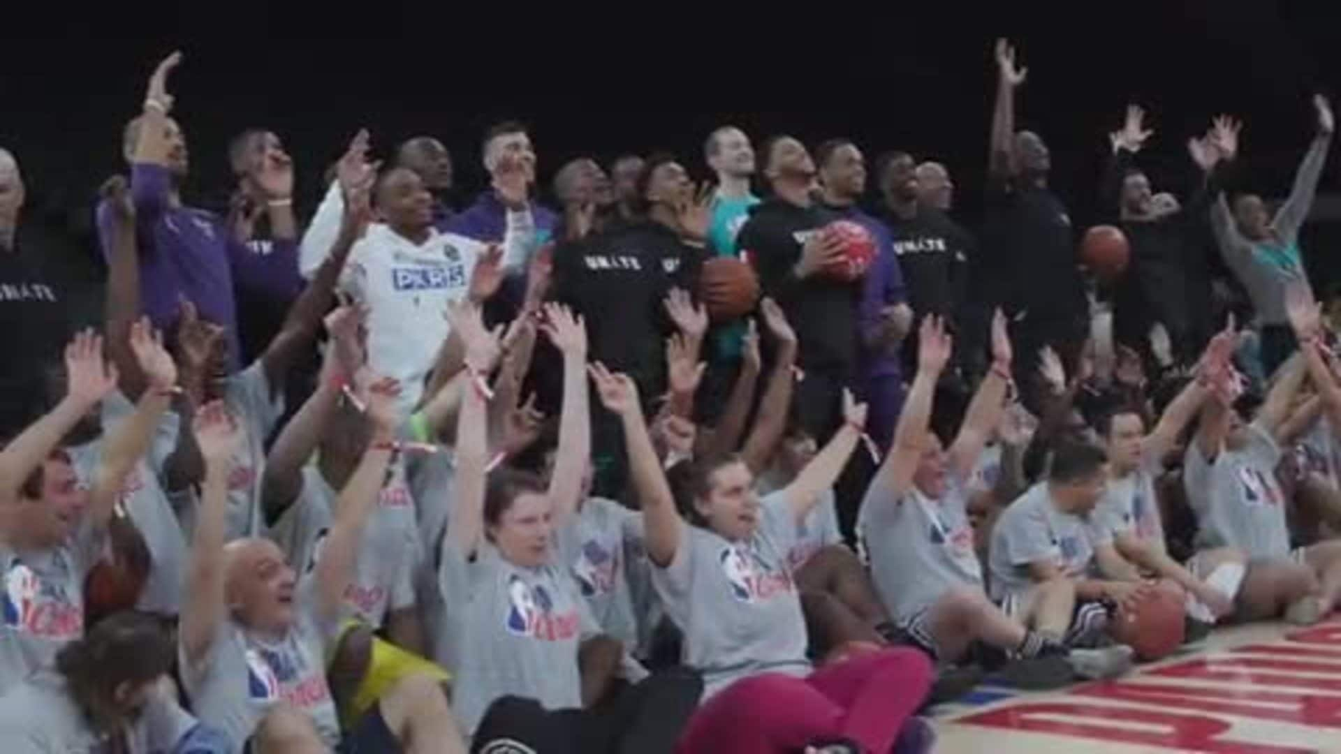 Hornets Paris | NBA Cares x Special Olympics Event – 1/23/20