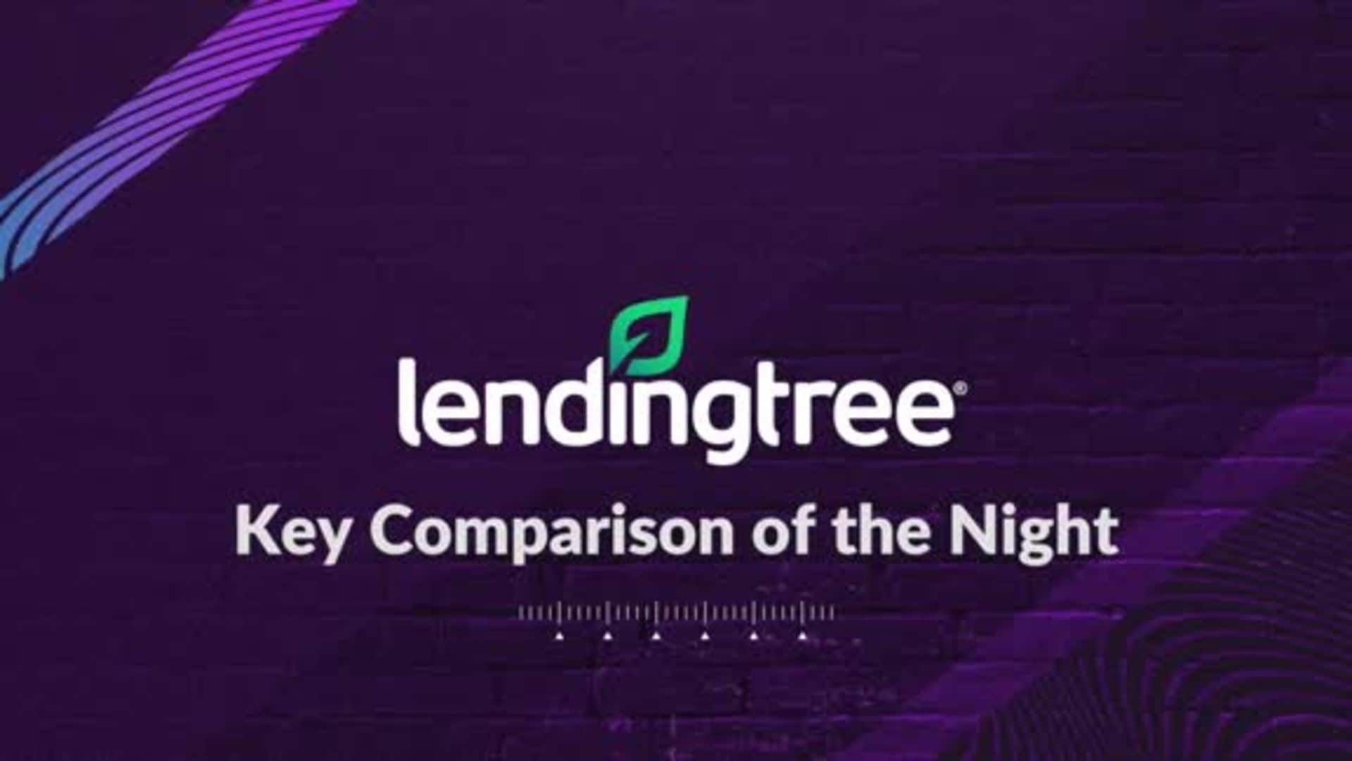LendingTree's Key Comparison of the Night - 1/24/20