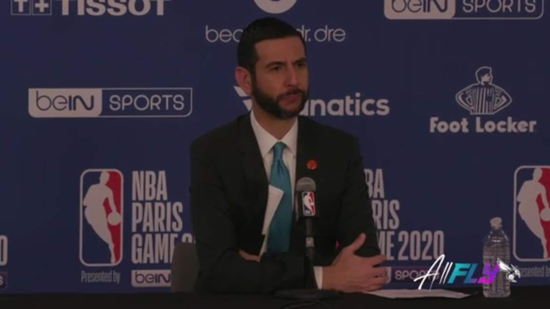 Hornets Postgame | James Borrego - 1/24/20