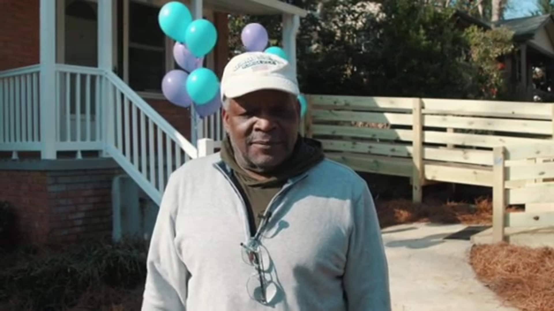 Charlotte Hornets Foundation | Military Grant Renovation Purple Heart Homes