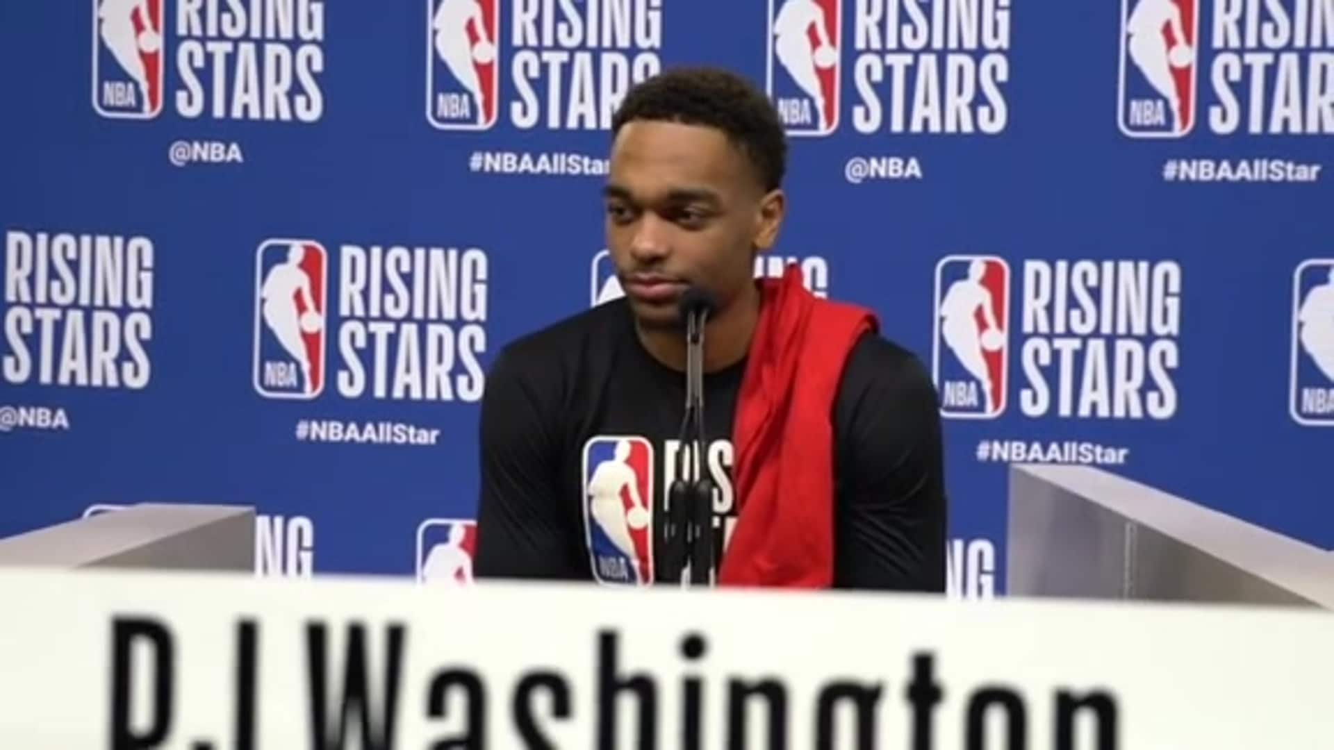 Rising Stars Media Availability | PJ Washington - 2/14/20