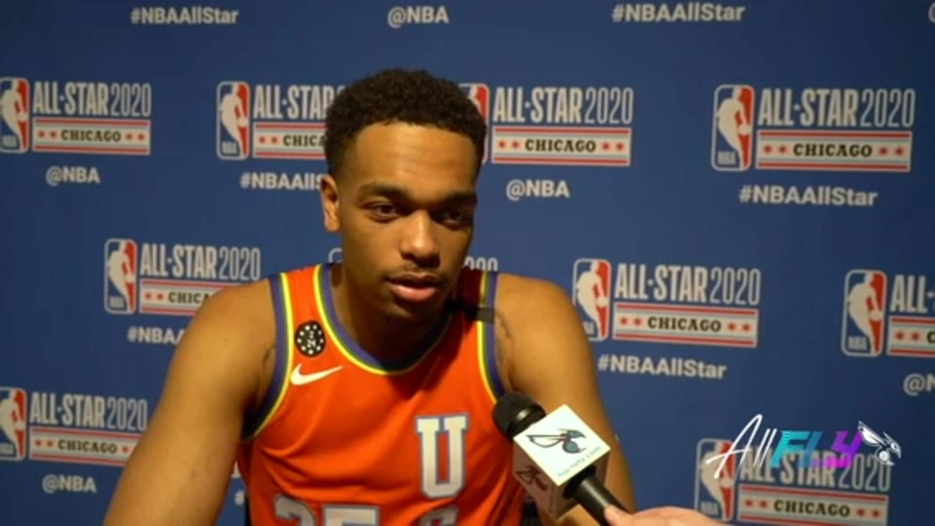 Rising Stars Postgame | PJ Washington - 2/14/20