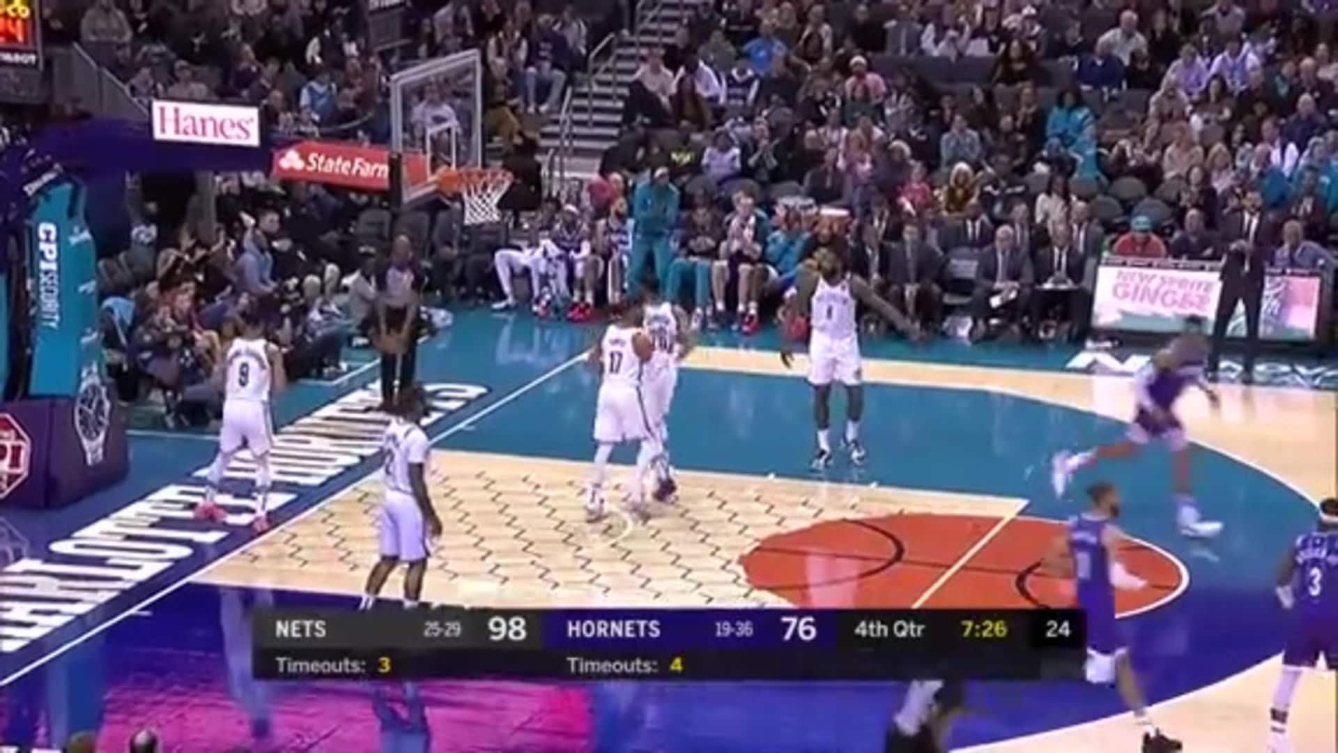 Hornets Highlights | P.J. Washington - 02/22/20
