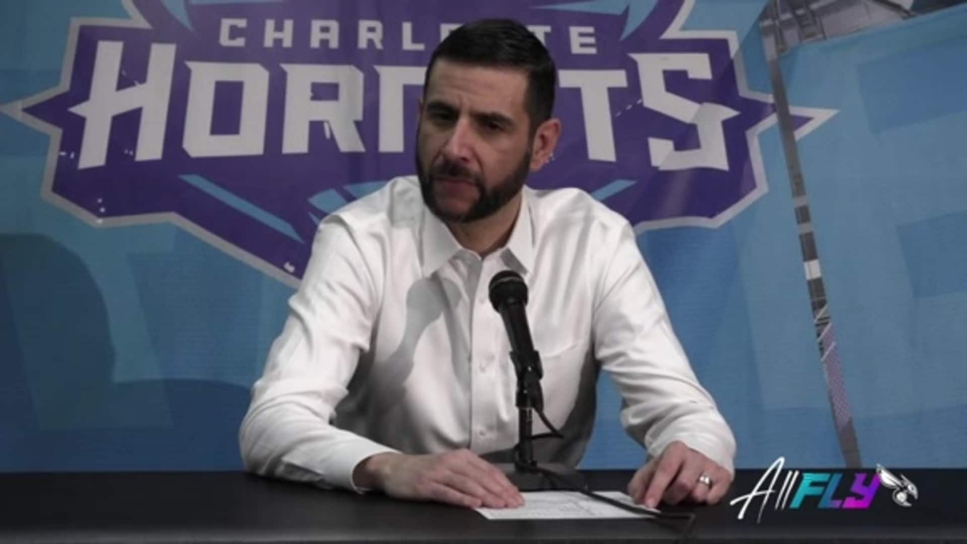Hornets Postgame | James Borrego - 3/11/20