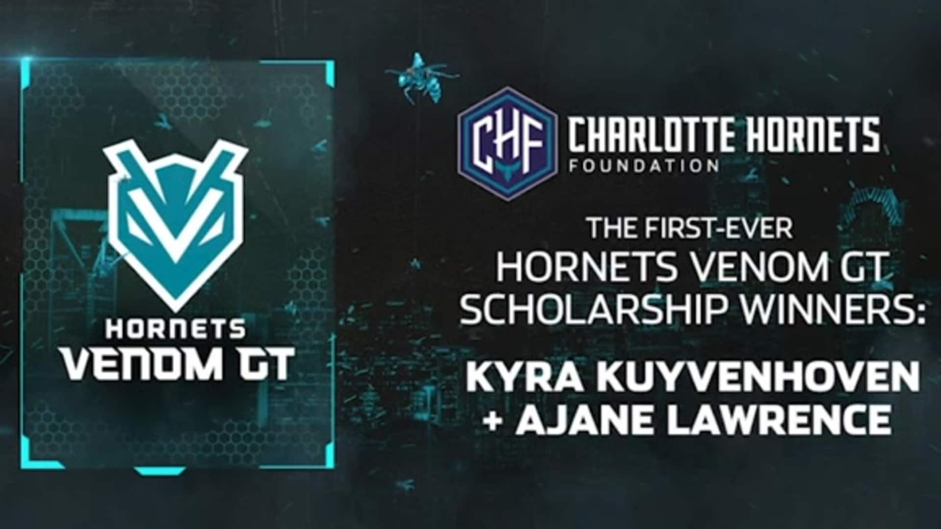 First-Ever Hornets Venom GT Scholarship Winners Get the Call