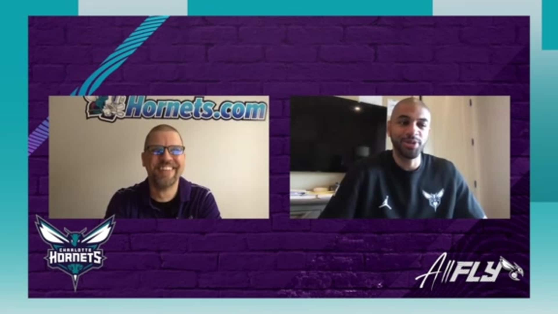 Nic Batum on Extra Time with His Son in Hiatus