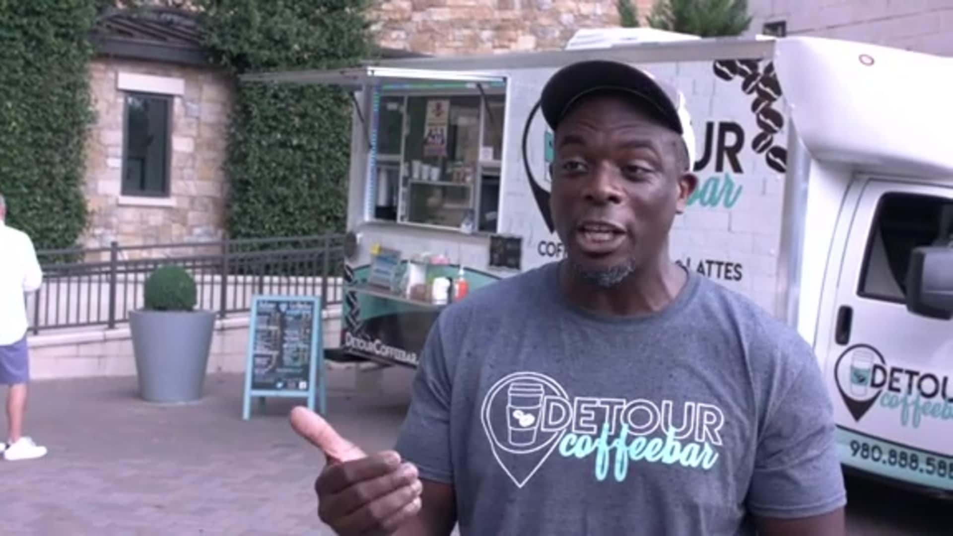 2020 Week of Service Black-Owned Business Spotlight - Detour Coffeebar Truck