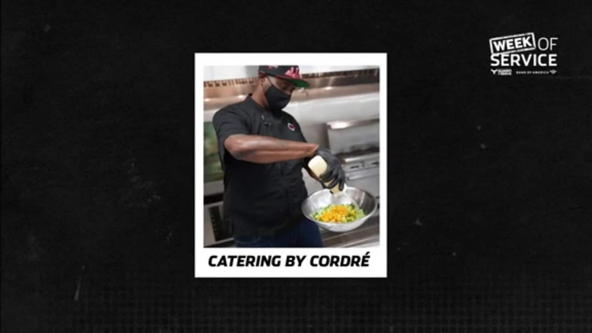 2020 Week of Service Black-Owned Business Spotlight - Catering by Cordré