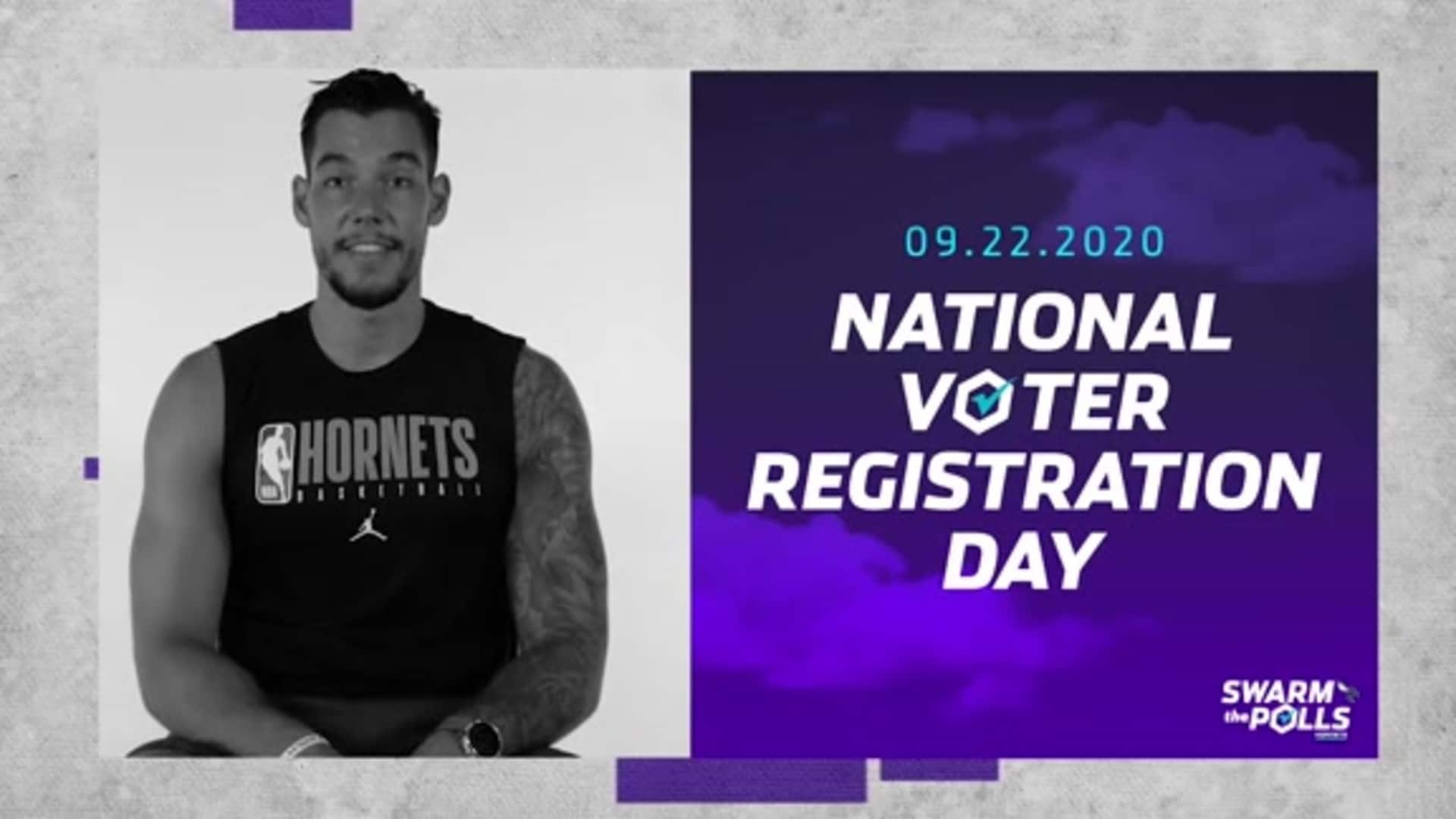 Swarm the Polls | National Voter Registration Day