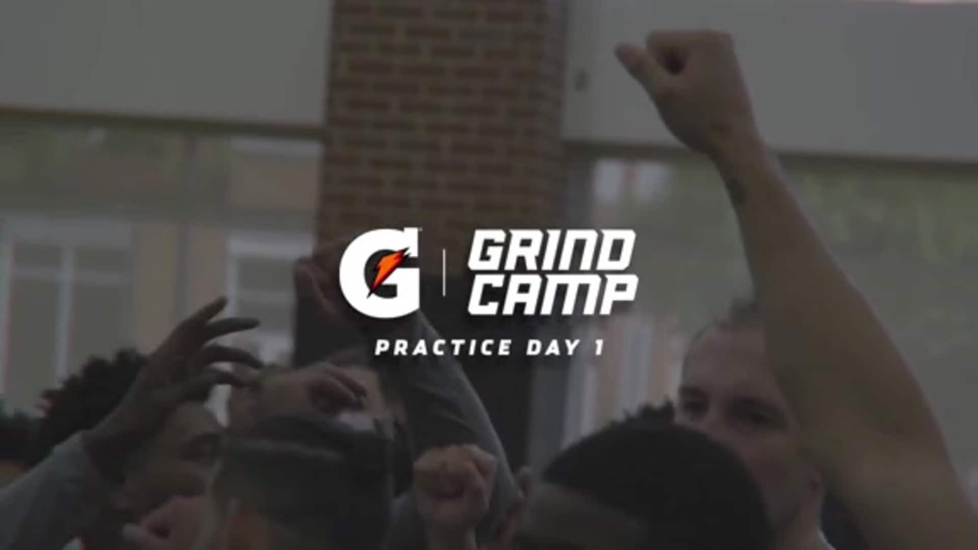 Gatorade Grind Camp Report | Day 1